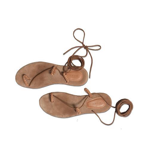 Asymmetrical Gladiator Sandal