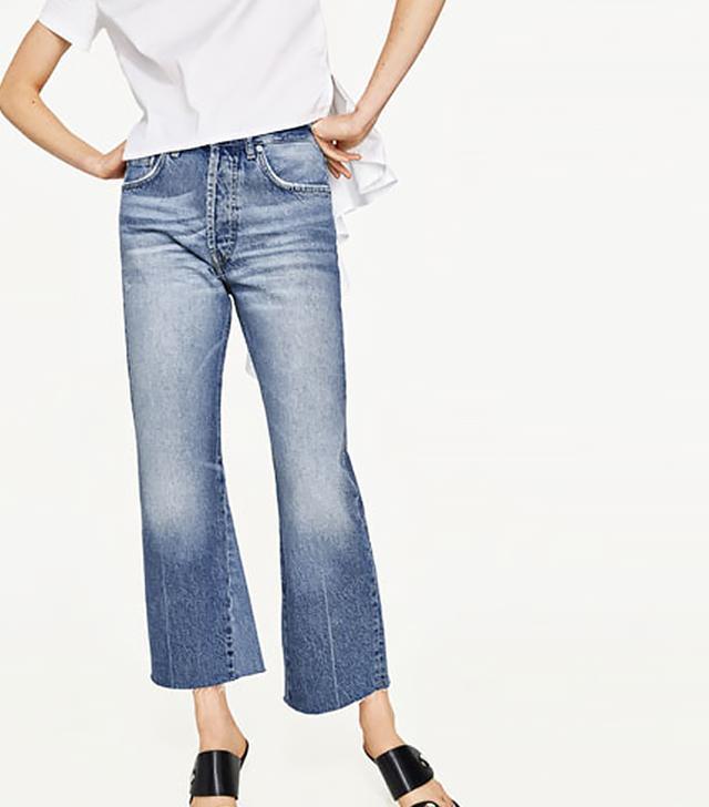 Zara High Rise Bootcut Jeans