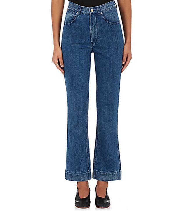Women's Straight Crop Jeans