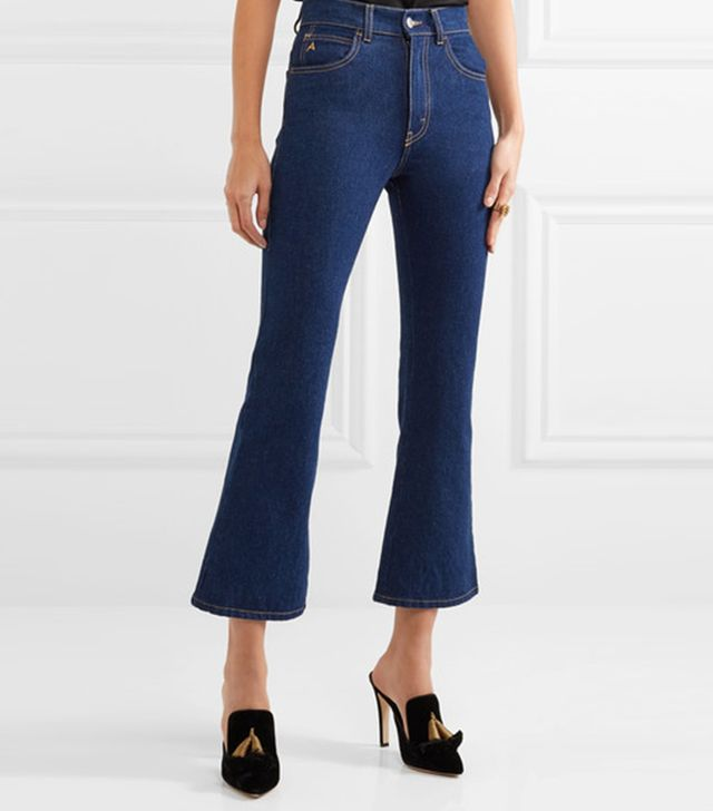 Rosa High-rise Flared Jeans