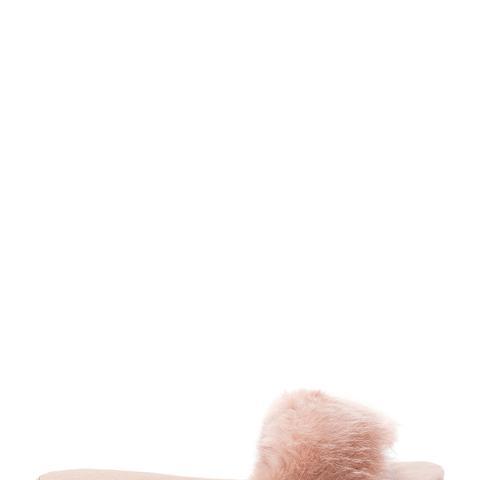 Sawtelle Faux Fur Slides