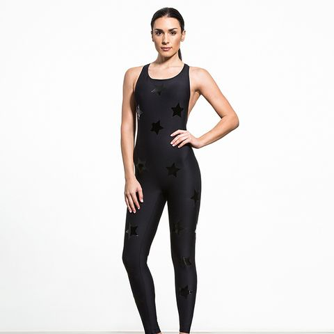 Motion Lux Knockout Unitard in Black