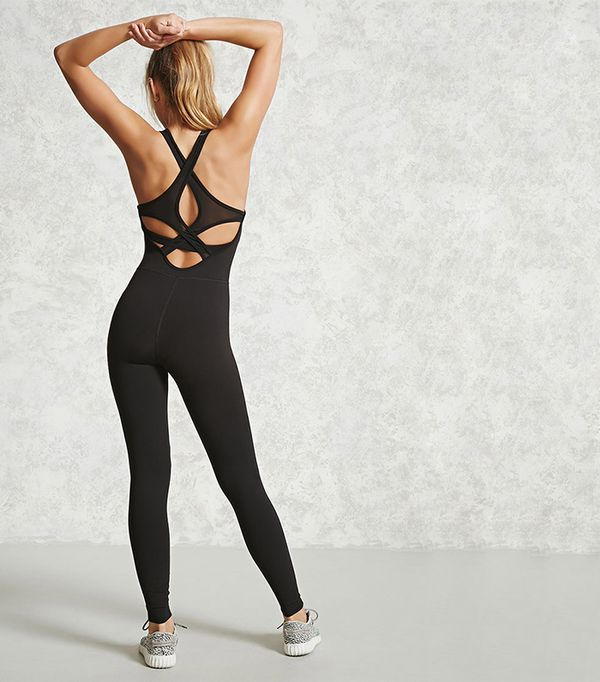 Active Cross-Back Jumpsuit