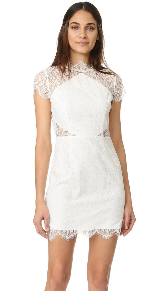 Daydream Lace Mini Dress