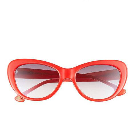 Ludlow 53MM Gradient Lens Cat Eye Sunglasses