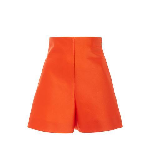High Waisted Satin Shorts