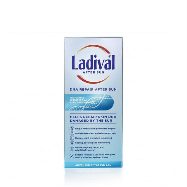 How to Treat Sunburn: Ladival DNA Repair After Sun Gel