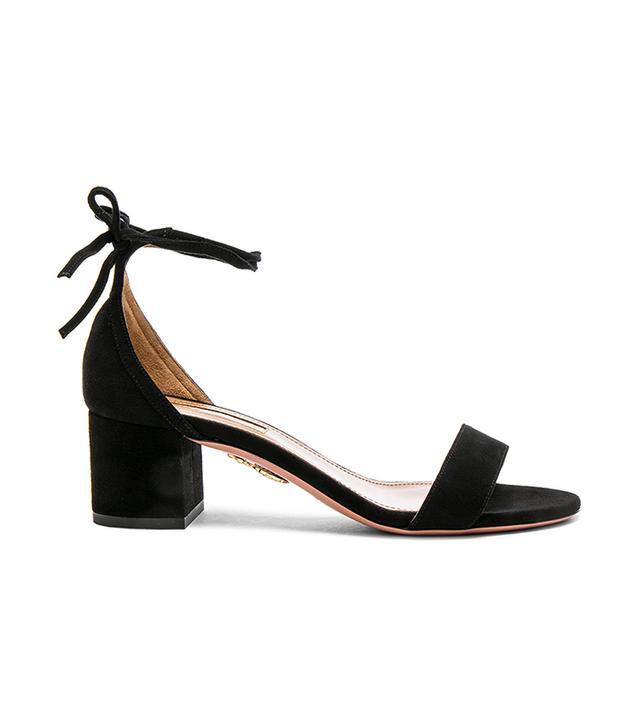 Suede City Sandal Heels