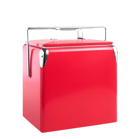 Cherry Red Retro Cooler by World Market