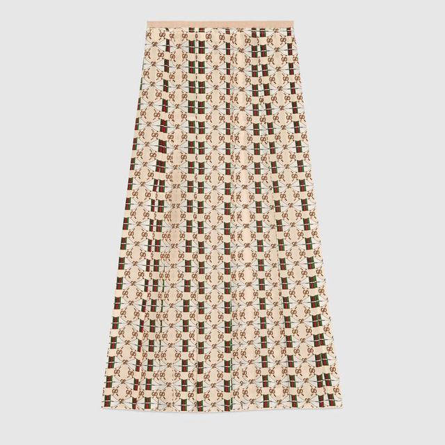 Gucci Printed Skirt