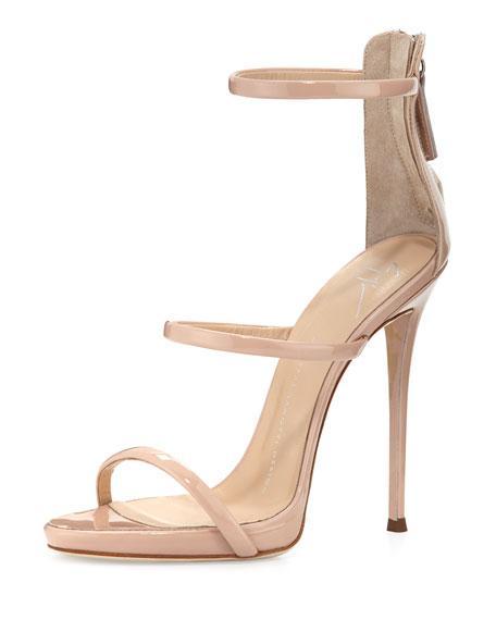 Triple-Strap Sandal