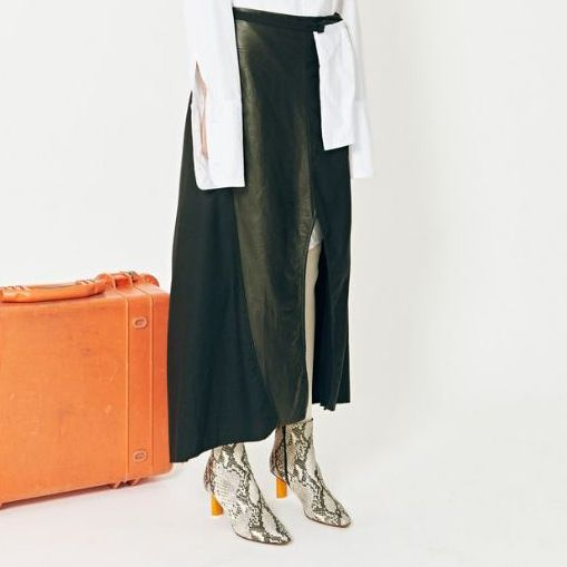 Company of Strangers Odyssey Skirt in Leather