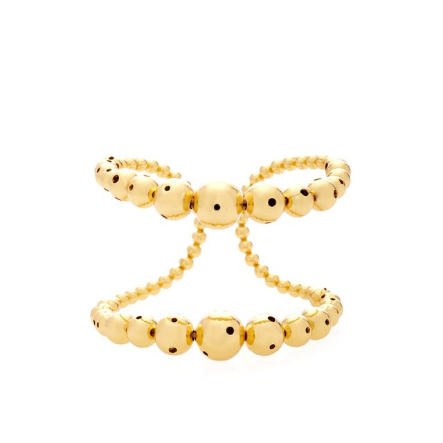 Prins 24K Gold-Plated Cuff