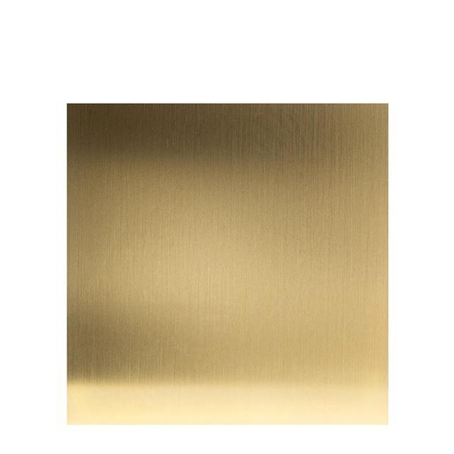 Kubus 8 Base Brass Plated