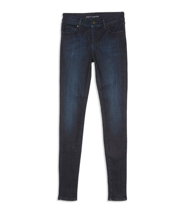Affordable skinny jeans: Mott & Bow High Rise Skinny Jeans in Jane