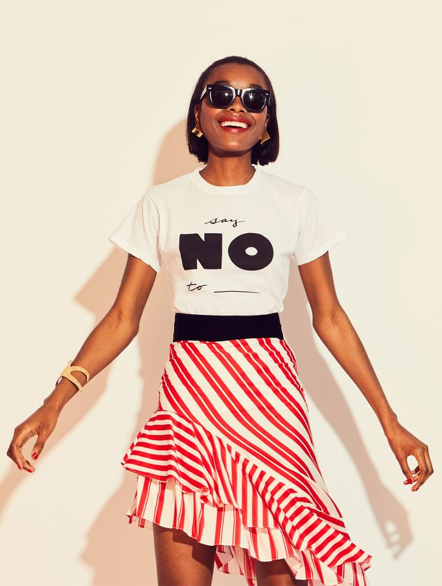 Just Say No Classic Fit T
