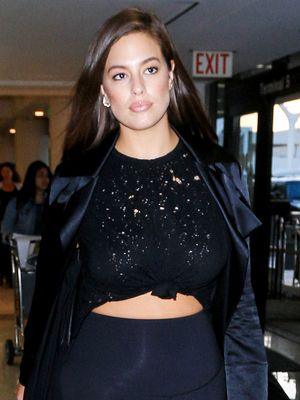 Ashley Graham Wore the Leggings and Sneakers Combo Every Model Loves