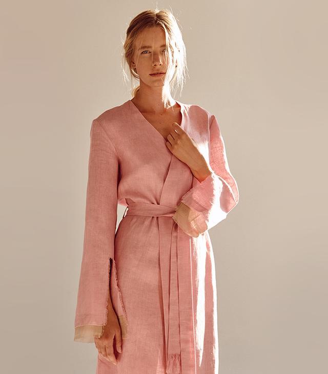 Summer style: Sleeper Judas Tree Linen Robe
