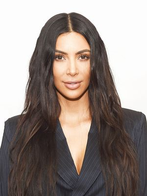 In Which Kim Kardashian West Gives Me a Contouring Lesson in Her Living Room