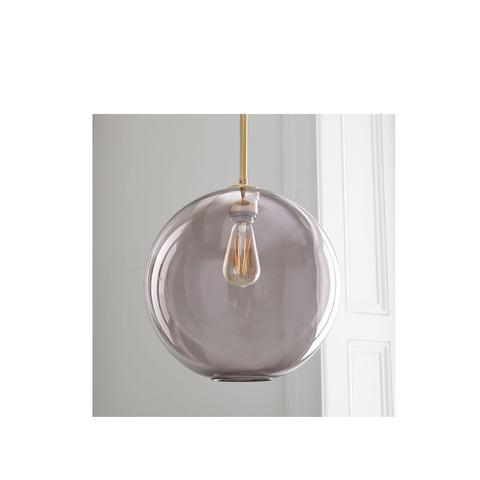 Sculptural Glass Globe Pendant