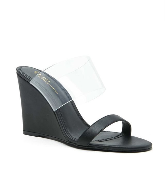 Clear Slip-On Wedges
