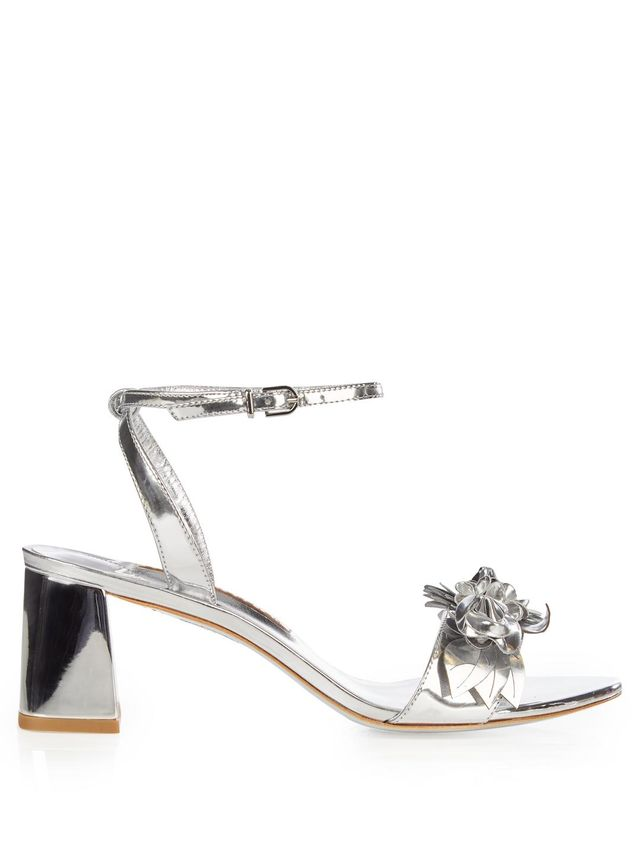 Lilico patent-leather block-heel sandals