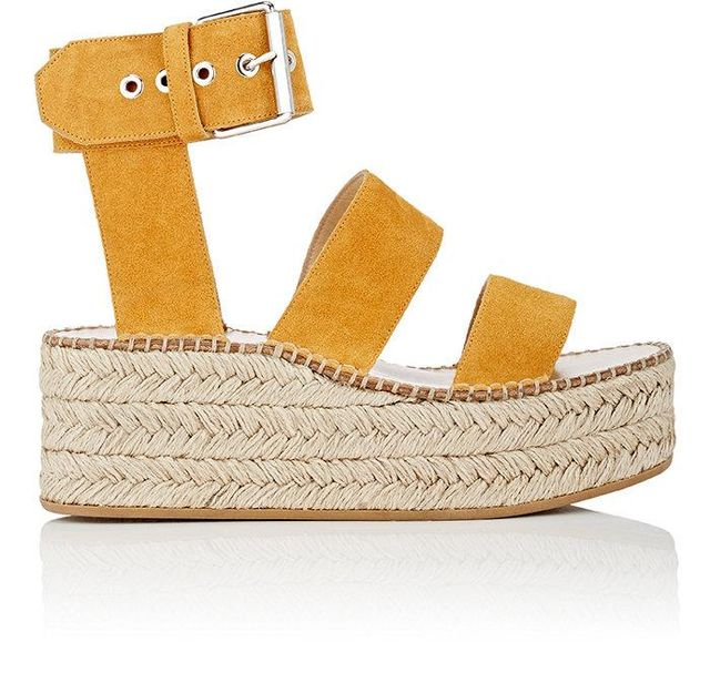 Women's Tara Suede Wedge Sandals