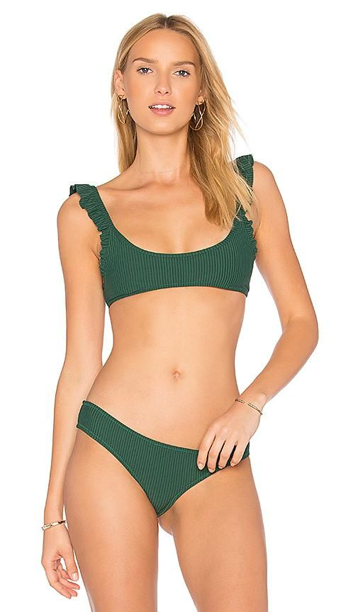 Petal 2 Top in Green. - size XS (also in L,M)
