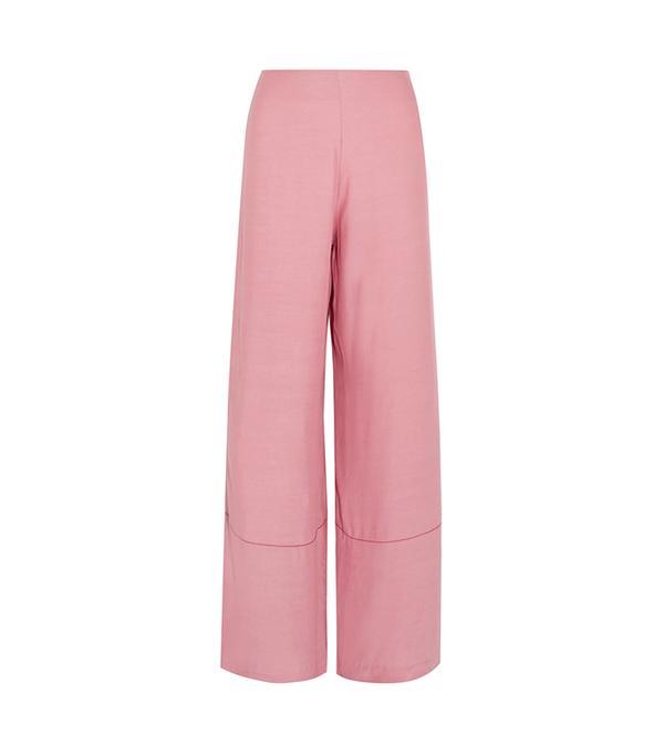Monte Crepe Wide-leg Pants