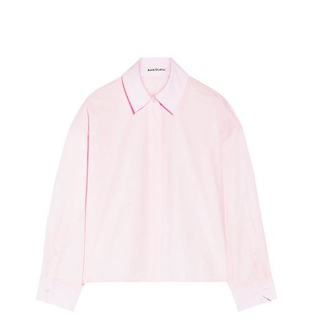 Britta Cotton-Poplin Shirt