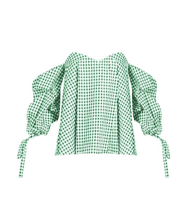 Wardrobe Edit: Gingham Top