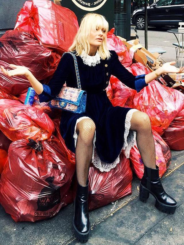 Pandora Sykes London Fashion Week