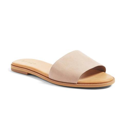 Mere Flat Slide Sandal