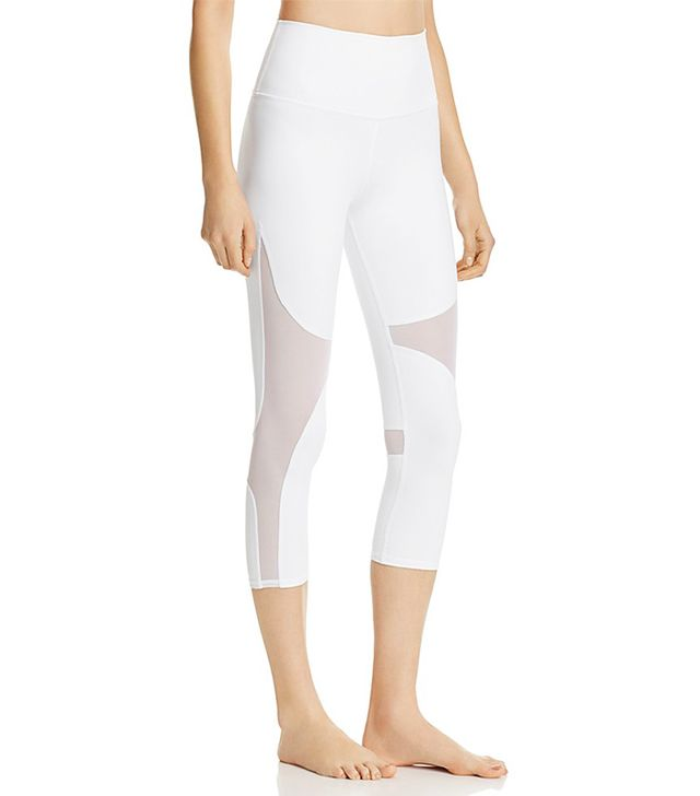 High Waist Coast Crop Leggings