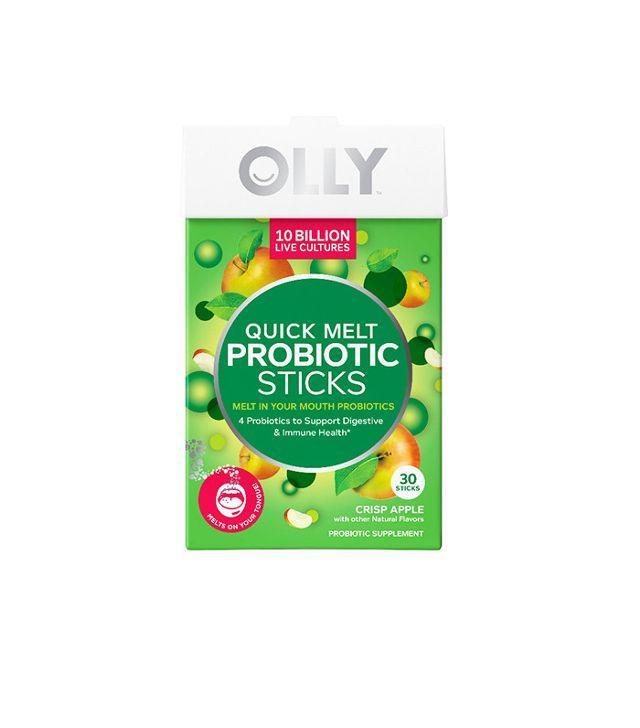 Olly Quick Melt Probiotic Sticks Crisp Apple