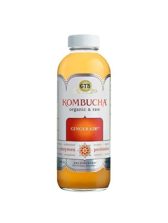 GT'S Organic Raw Gingerade Kombucha