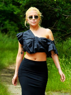 Lady Gaga Just Went Hiking in Heels