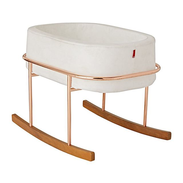 The Land of Nod Monte White Rockwell Bassinet