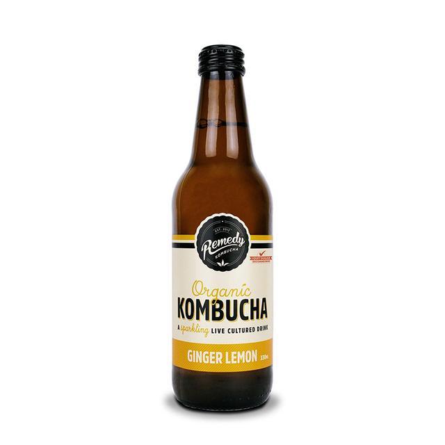 Remedy Kombucha Ginger & Lemon