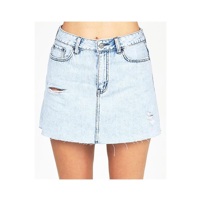 Lee Lola Skirt Thrift Blue