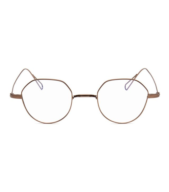 stephane christian heming 02 hexagon metal wire optical glasses - Wire Frame Glasses