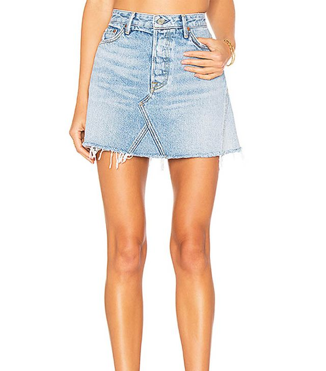 Revolve Denim skirt