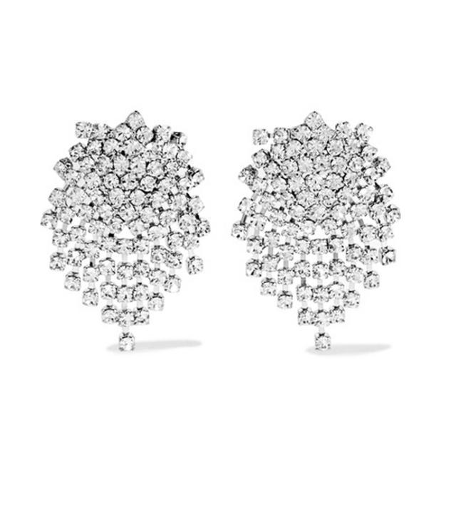 Best bling accessories: Kenneth Jay Lane earrings