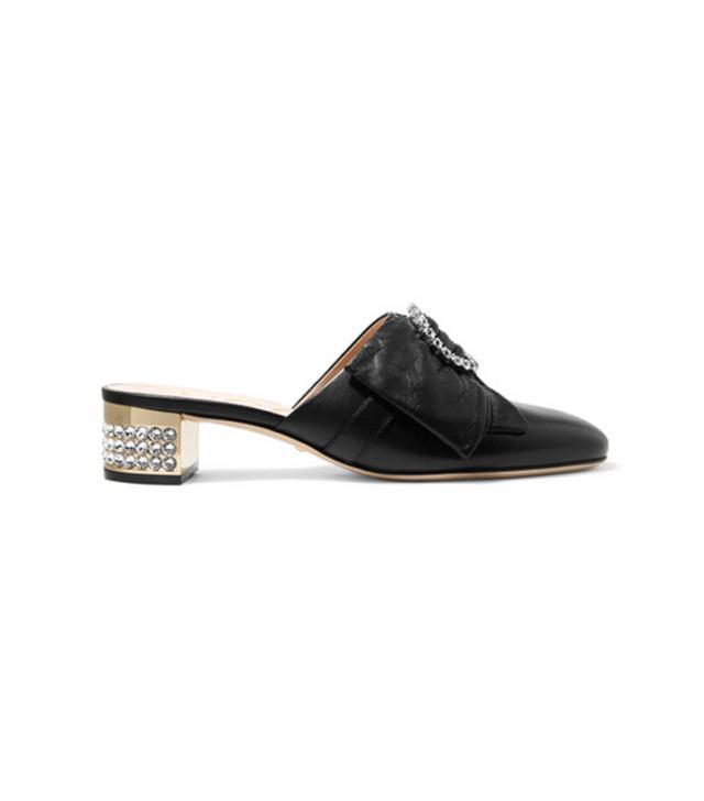 Best bling accessories: Gucci mules
