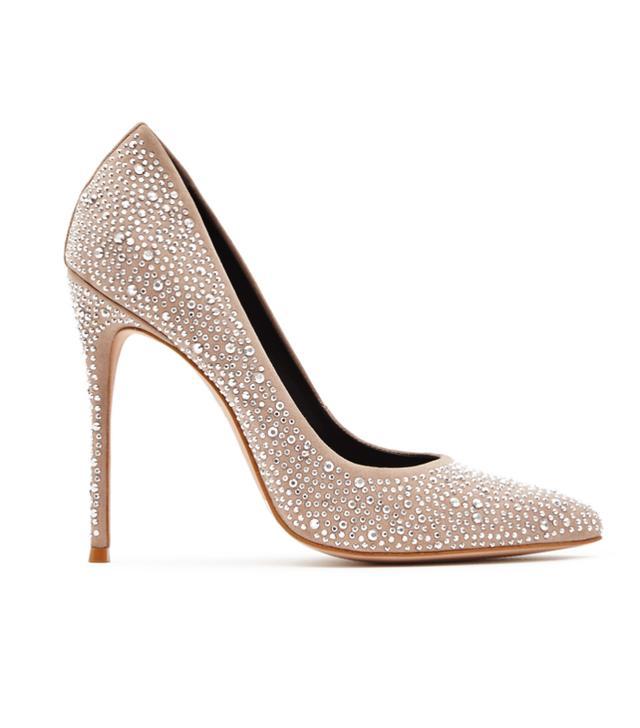 Best sparkly accessories: Reiss heels