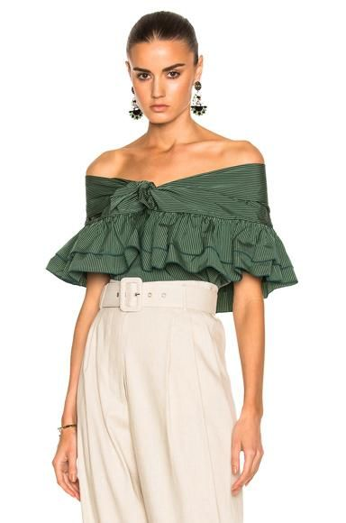 Ruffle Knot Top with Short Sleeves