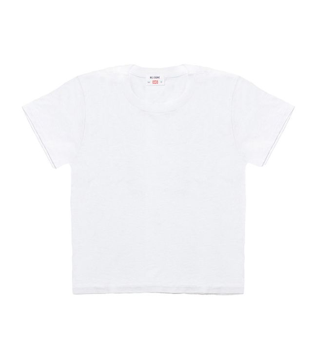 Re/Done Hanes The 1950s Boxy Tee