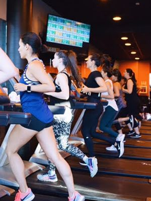 We Need to Talk About the Orangetheory Class We Took in L.A. Last Week