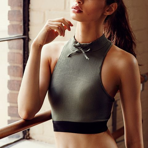 Slick Rib Sports Bra by FP Movement at Free People