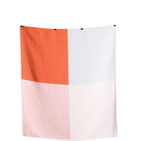 Flagged Cotton Blanket